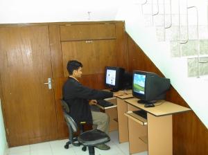 fasilitas komputer dgn akses internet