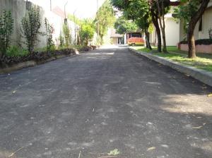 jalan asrama sudah mulus diaspal