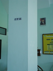 Hotspot area di kantor Direktorat Poltekkes Lt 2
