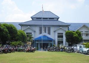 Gedung Rektorat Poltekkes Depkes Ykt, Jl. Tata Bumi 3, Banyuraden, Gamping, Sleman