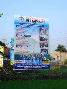 Banner Universitas Respati Ykt