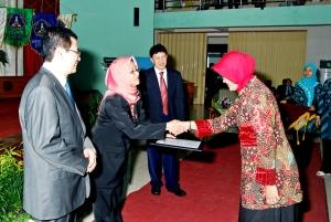 Penyerahan ijin operasional Poliklinik Terpadu Poltekkes Yogyakarta