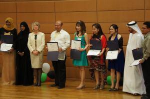 Imam H dpt penghargaan safety officer dlm Penghargaan tahunan di Nursing day UEA